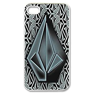 IPhone 4,4S Phone Case for VOLCOM pattern design