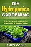 Hydroponics : DIY Hydroponics Gardening : How to Start Your first Hydroponics System Without Spending Too Much Money and Time.