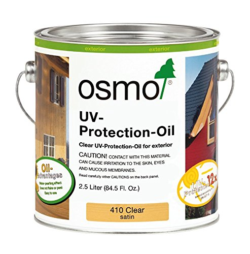 OSMO Clear UV Oil Wood Finish 2.5L ()