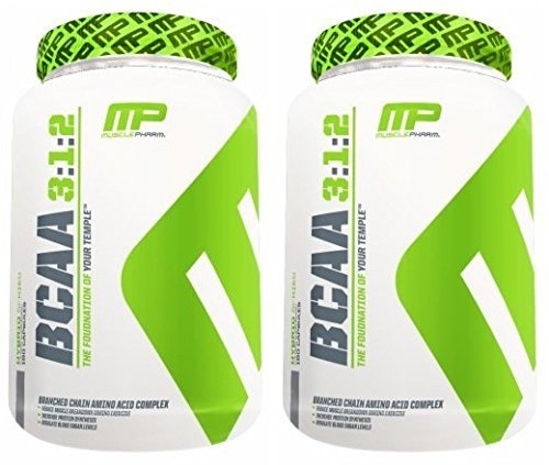 Bcaas 240 Capsules ((2 Pack) - Muscle Pharm - BCAA 3:1:2 | 240's | 2 PACK BUNDLE)
