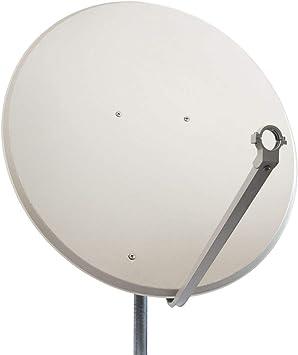 Satélite Espejo apariencia de acero LH-100 Antena HDTV 100 cm - gris claro