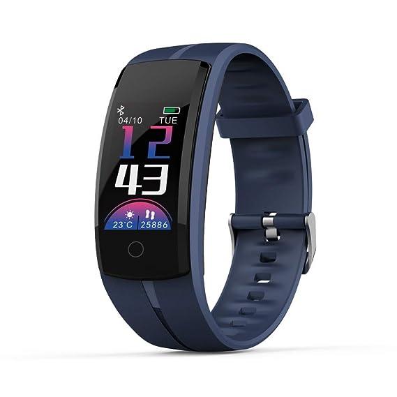 Worsworthy Pulsera de Actividad, Relojes Deportivos GPS con Pulsómetro Impermeable IP68 de frecuencia cardíaca Monitoreo del sueño Pulsera para ...