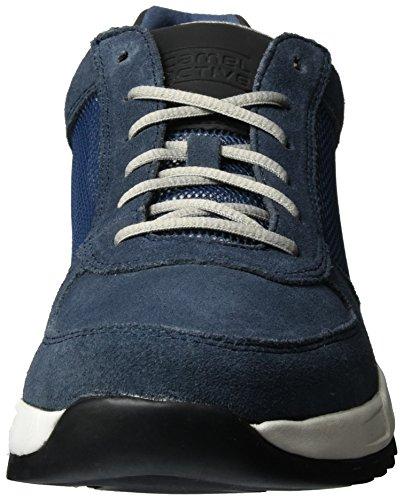 camel active Orbit 16, Zapatillas para Hombre Azul (denim 03)