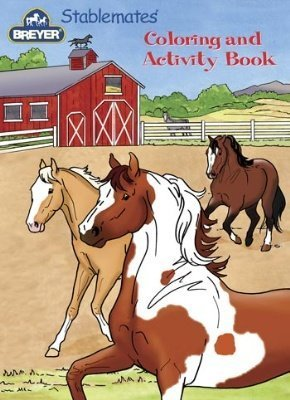 (Breyer Stablemates Coloring & Activity Book by Reeves)
