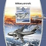 Solomon Islands - 2017 Military Aircraft - Souvenir Sheet - SLM17520b
