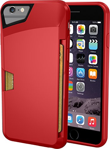 Silk iPhone 6/6s Wallet Case - VAULT Protective Credit Card Grip Cover -