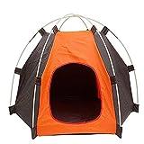RuiXiang 1pcs Outdoor Pet Tent, Small Pet Tent Assembly, Dog Cat Camping Tent, Portable Waterproof Pet House Tent,Indoor and Outdoor Dog Cat House