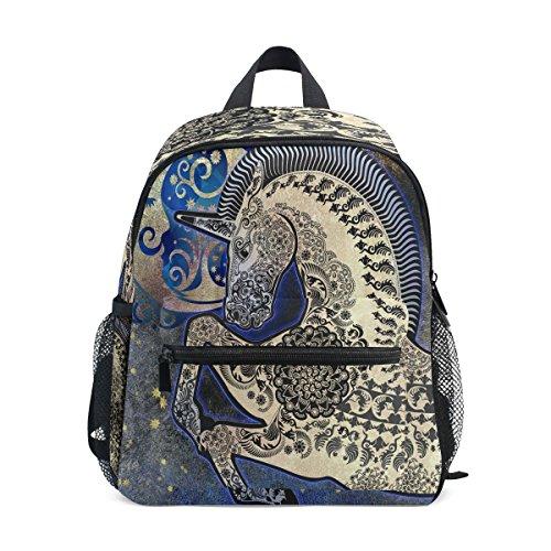 Kids ZZKKO nbsp;Backpack Exotic nbsp;for nbsp;School Horse nbsp;Toddler nbsp;Book nbsp;Girls Boys nbsp;Bag Animal Hr1qwrWt