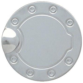 NEW Brushed Non-Locking Gas Fuel Door FOR CHEVROLET SILVERADO 1500 1999-2006
