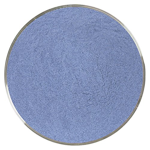 Blue Black Opalescent Powder Frit - 4oz - 90COE - Made From Bullseye Glass