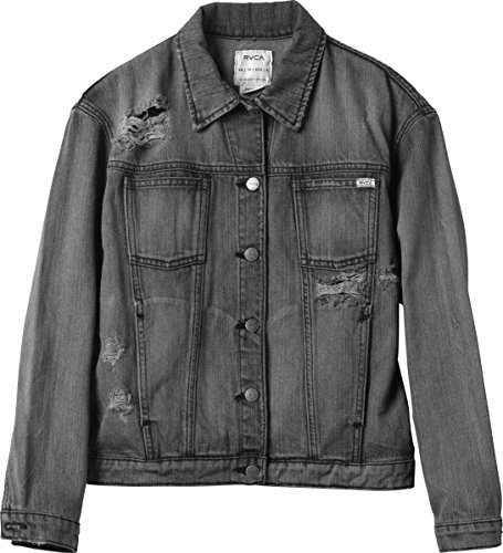 UPC 886464992491, RVCA Women's Road Worthy Denim Jacket Blue Black Wash X-Small