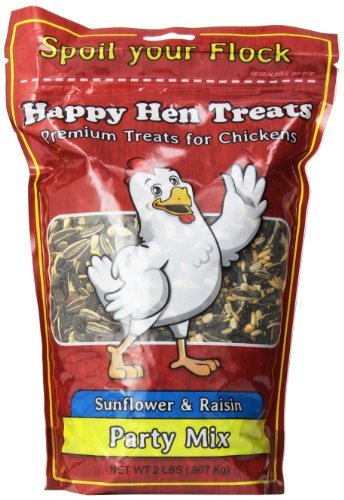 - Happy Hen Treats Party Mix Sunflower and Raisin, 2-Pound by Happy Hen Treats
