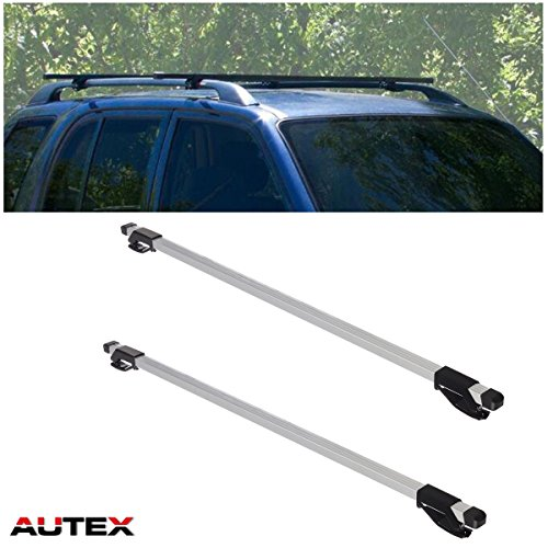 Wagon Elantra Hyundai 2010 - AUTEX 48'' Universal Roof Rack Crossbars Cargo Rack Aluminum Luggage Cargo Carrier Racks Roof Top Cross Bars (Pack of 2)