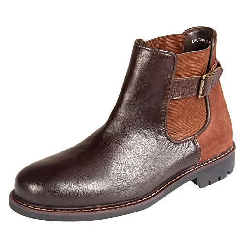 Mens Leather Boots With Buckles - 2
