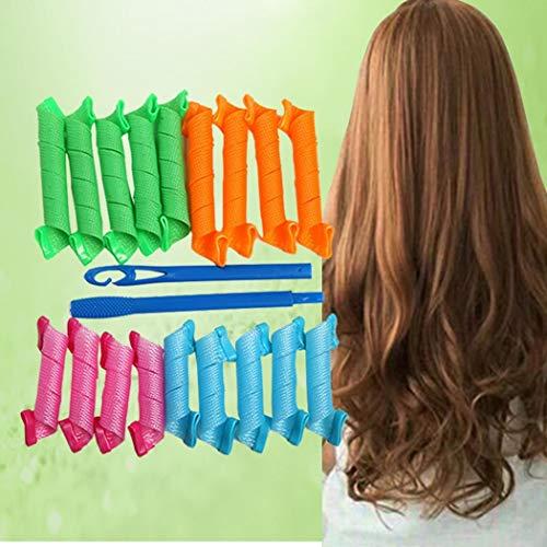 Ladiy Durable DIY Hair Curler Home Hair Rollers Hair Styling Tool Hair Rollers
