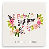 Lucy Darling Baby's First Year Memory Book: A Simple Book of Firsts - Little Artist