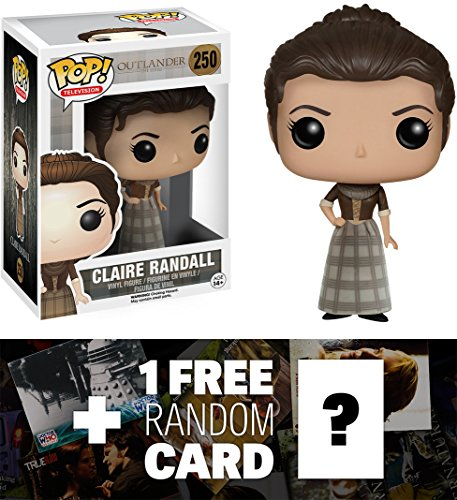 Claire Randall: Funko POP! x Outlander Vinyl Figure + 1 FREE TV Themed Trading Card Bundle [53888]