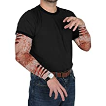 Beistle Zombie Bite Party Sleeves, Multicolor