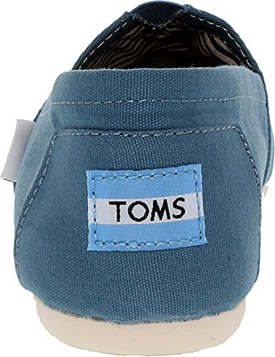 Toms Womens Classic Canvas Slip On Casual Shoe, Aegean Blue, US 7