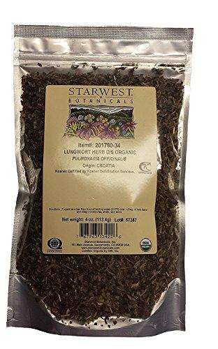 Lungwort Herb Organic C/S 4 Oz
