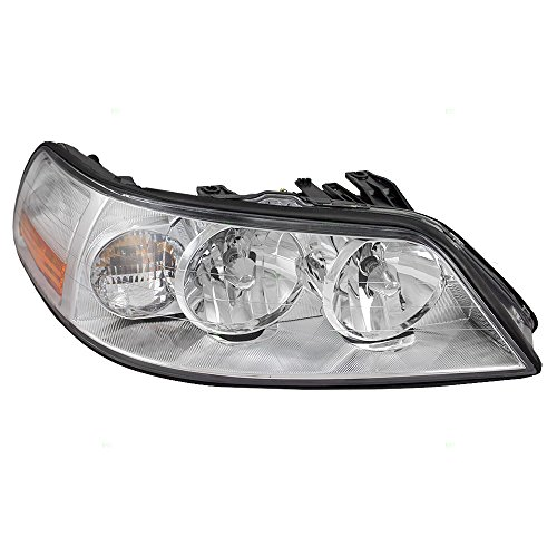 - Passengers Halogen Headlight Headlamp Replacement for Lincoln 4W1Z13008AA AutoAndArt