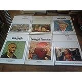 Lot de 6 livres Tout l'oeuvre peint : Holbein le Jeune Bruegel l'ancien - Dürer - memling - van Gogh (tomes 1 & 2 )