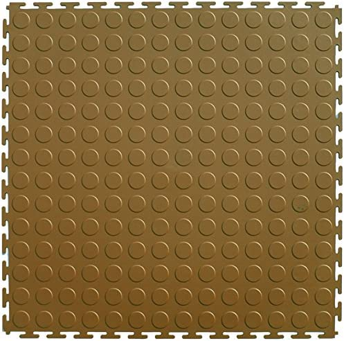 Light Gray IncStores Diamond Flex Garage and Shop Multi-Purpose Flooring Tiles 20.5x20.5 8 Tile Pack Covers 23.35 sqft