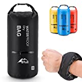 Kyпить BFULL Waterproof Dry Bag 10L/20L [Lightweight Compact] Roll Top Water Proof Backpack with 2 Exterior Zip Pocket for Kayaking, Boating, Duffle, Camping, Floating, Rafting, Fishing на Amazon.com