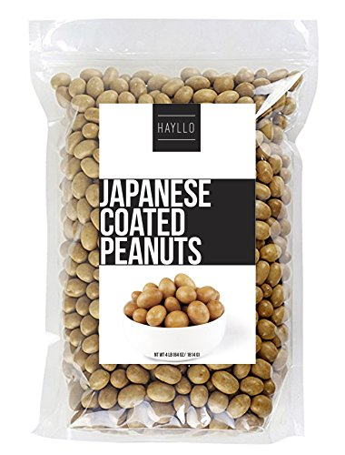 4 LB Original Flavor Cracker Nuts Japanese Coated Peanuts - Japanese Peanuts