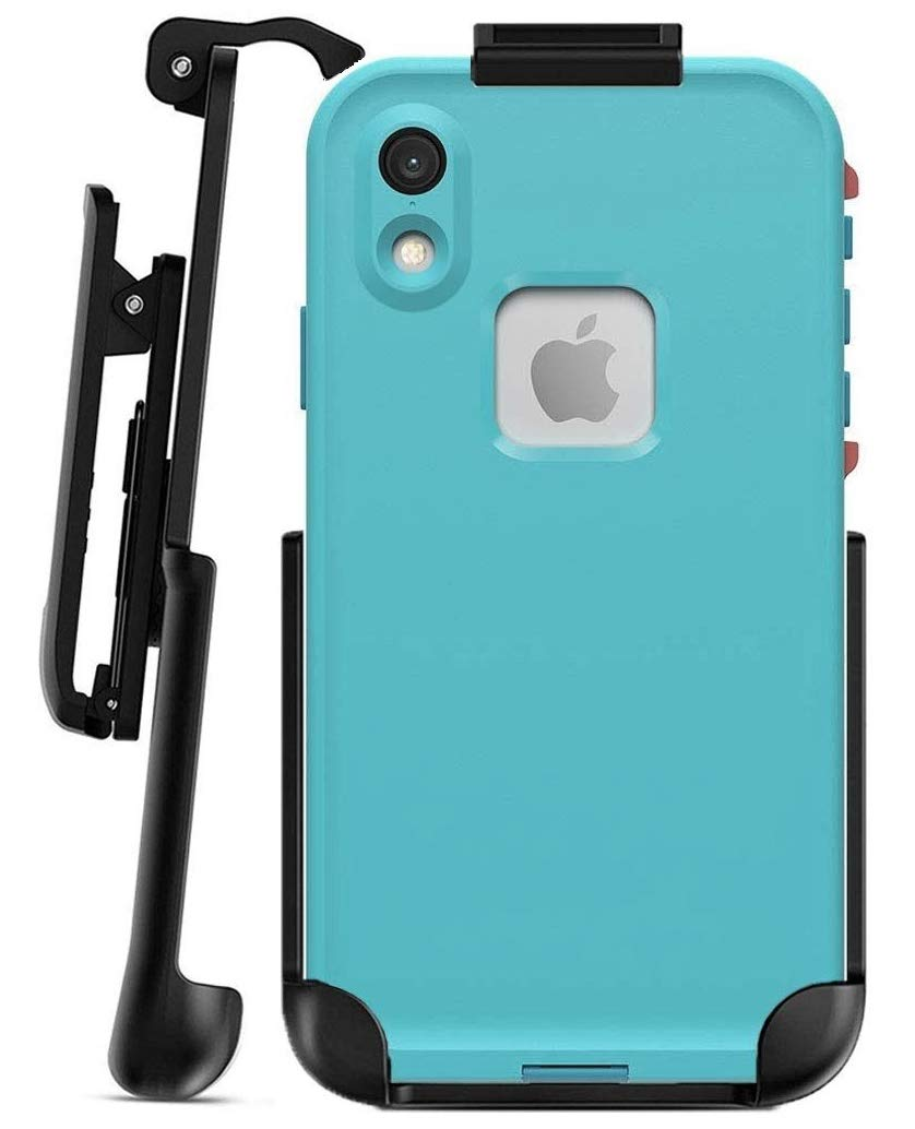 Encased Belt Clip Holster - Compatible with Lifeproof Fre Series - iPhone XR 6.1'' (case is Not Included)