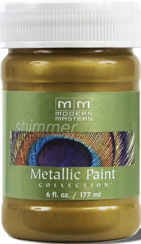 Modern Masters ME230-06 Metallic Green Gold, 6-Ounce (Finish Green Gold)
