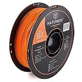 HATCHBOX PLA 3D Printer Filament, Dimensional Accuracy +/- 0.03 mm, 1 kg Spool, 1.75 mm, Orange: more info