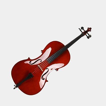 Miiliedy Clásico Hecho a mano Luz Violonchelo Principiante Niños Adultos Práctica Profesional Rendimiento Violonchelo Melodioso Sonidos calmantes Violonchelo con estuche Arco Resina (tamaño : 1/8): Amazon.es: Instrumentos musicales