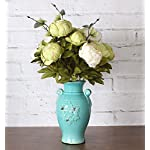Duovlo-Fake-Flowers-Vintage-Artificial-Peony-Silk-Flowers-Wedding-Home-DecorationPack-of-1-New-Green