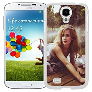 Fashionable Samsung Galaxy S4 I9500 Case ,Unique And Lovely Designed Case With Princess Emma Watson White Samsung Galaxy S4 Cover Phone Case
