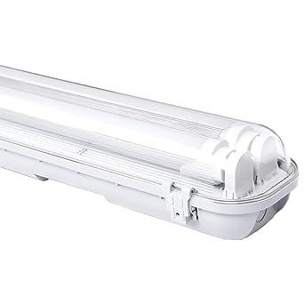 18w Wannenleuchte Warmweiß 120cm Led Feuchtraumleuchte Tageslicht Industrie Strahler Badlampe 3000k Werkstatt Beleuchtung 2 Er Pack Led Röhre G13