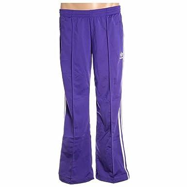 09ef28a33d3a3 Amazon.com: adidas Firebird Women`s Track Pants - Blast Purple/White ...