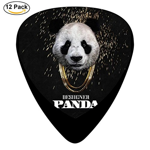 Guitar Picks DAB Panda 12-Pack Celluloid Plectrums for Guitar Bass (Five Nights At Freddys Guitar)