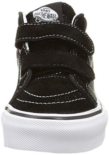 Vans - Sk8-mid Reissue V, Zapatillas Niños-Niñas Negro (digi Shark/black/true White)