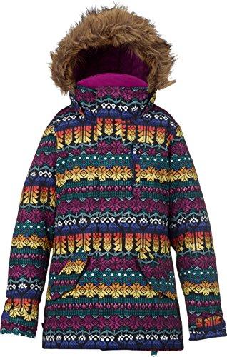 Burton Snow Jackets - Burton Girls Aubery Snow Jacket - Figaro Stripe by Burton
