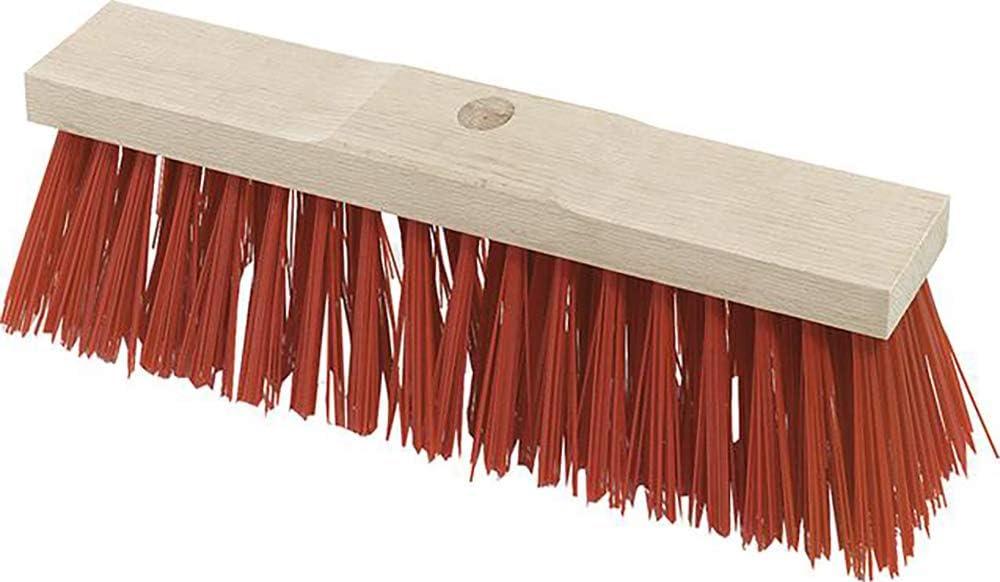Nölle Meisterqualität Straßenbesen Saalbesen Elaston rot 40+60 cm wahlw Stiel