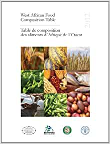 West african food composition table table de composition - Table de composition des aliments simplifiee ...