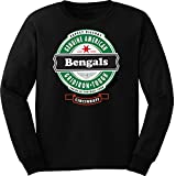 4u4design Football- Long Sleeve Bengals Beer Shirt - Sizes up to 6XL