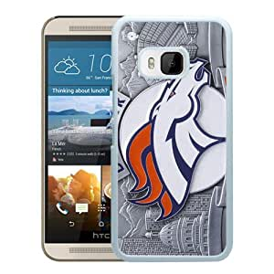Excellent protection,Lightweight and durable Denver Broncos (4) White HTC ONE M9 Case