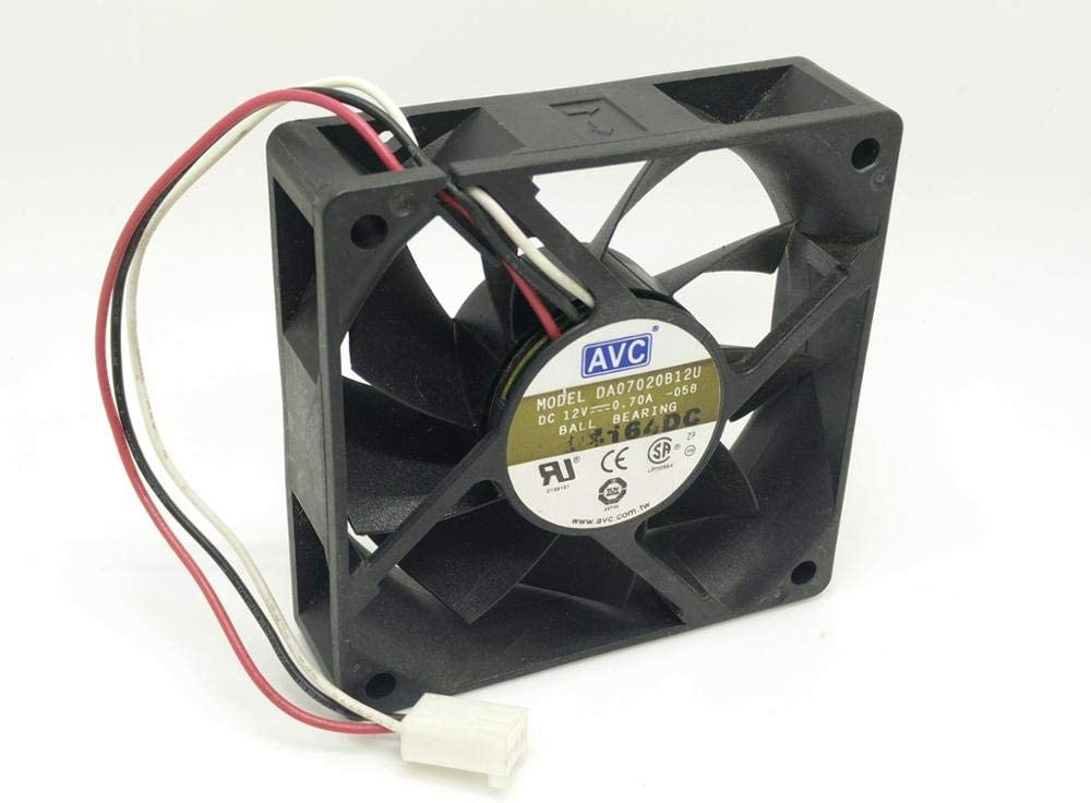 original For AVC DA07020B12U 12V 0.70A 707020MM server double ball fan