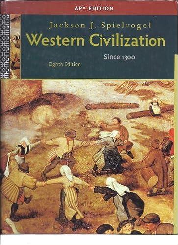 Western Civilization Since 1300 8th Edition Jackson J