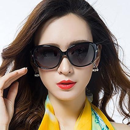 Sunyan Las nuevas gafas de sol de alto brillo marea hembra ...
