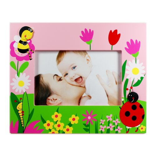 Ladybug 4''x6'' Picture Frame by Puzzled