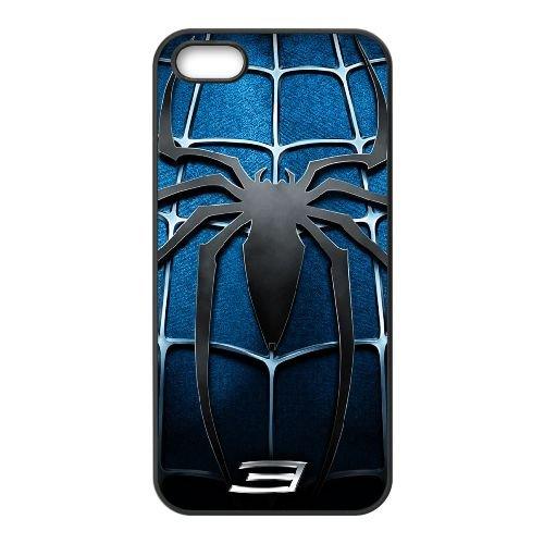 Pictures Of Spiderman 005 coque iPhone 4 4S Housse téléphone Noir de couverture de cas coque EEEXLKNBC18840