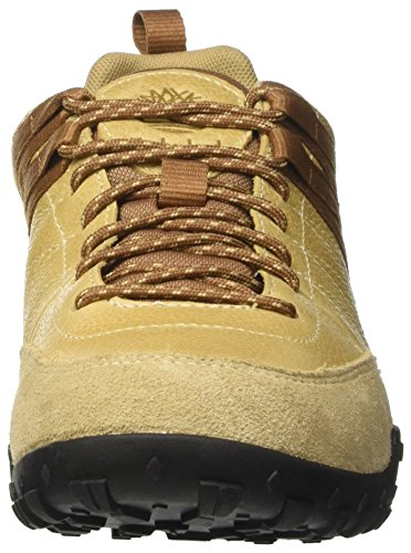 Timberland Greeley Approach Low Leatcroissant Rugged FG, Scarpe Oxford Uomo Beige (Croissant Rugged Fg)